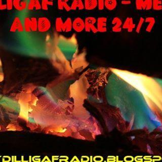 Dilligaf Metalflakes Radio
